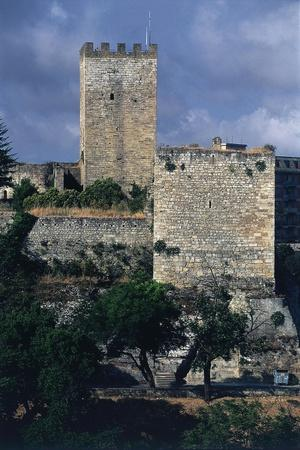 Italy, Sicily Region, Castello Di Lombardia, Enna--Giclee Print
