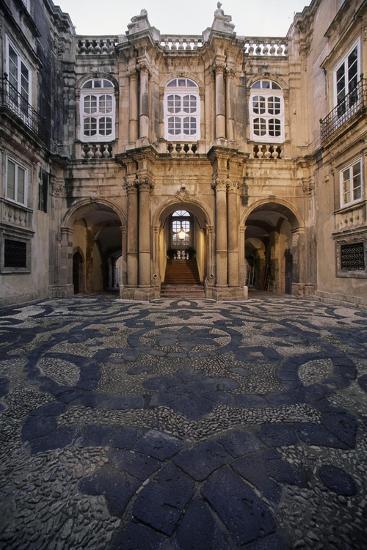 Italy, Siracusa, Ortigia Island, View of Facade of Palazzo Beneventano Del Bosco--Giclee Print