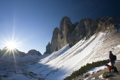 Italy, South-Tyrol, Sextener Dolomites, Three Peaks of Lavaredo, Mountain-Landscape-Rainer Mirau-Photographic Print