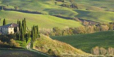 Italy, Tuscany, San Quirico Dorcia. Il Belvedere House-Julie Eggers-Photographic Print