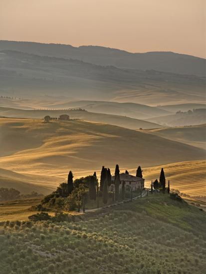Italy, Tuscany, Siena District, Orcia Valley, Podere Belvedere Near San Quirico D'Orcia-Francesco Iacobelli-Photographic Print