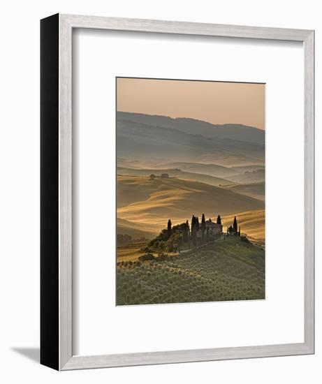 Italy, Tuscany, Siena District, Orcia Valley, Podere Belvedere Near San Quirico D'Orcia-Francesco Iacobelli-Framed Photographic Print