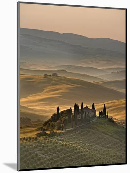 Italy, Tuscany, Siena District, Orcia Valley, Podere Belvedere Near San Quirico D'Orcia-Francesco Iacobelli-Mounted Photographic Print