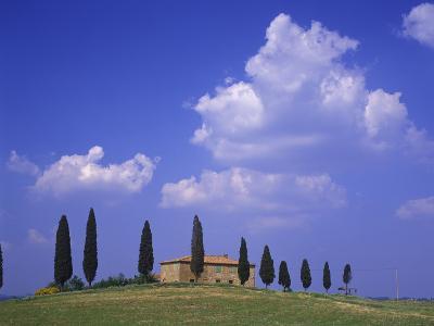Italy, Tuscany, Siena, Pienza, Grange Province-Udo Siebig-Photographic Print