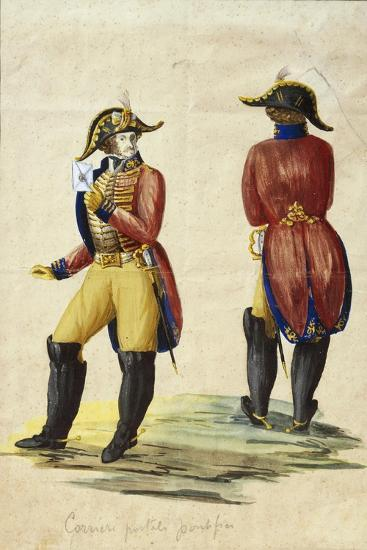 Italy, Uniform of Papal Courier--Giclee Print