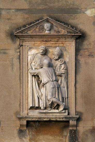 Italy, Veneto, Garda, San Vigilio, Decorative Detail from Villa Guarienti--Giclee Print
