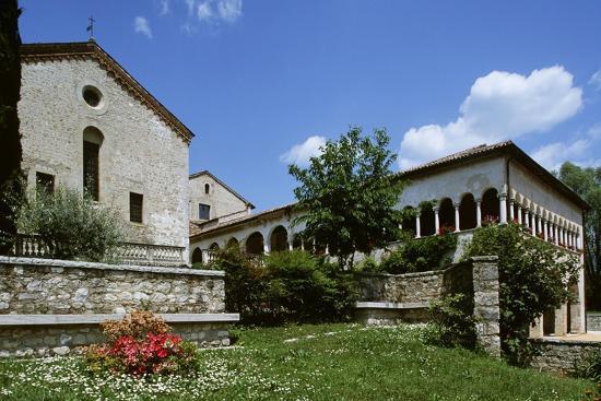 Italy, Veneto, Province of Treviso, Follina, Cistercian Abbey of Santa Maria--Giclee Print