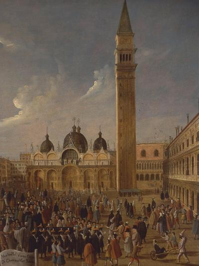 Italy, Veneto, Venice, Carnival on San Marco Square, Close-Up--Giclee Print
