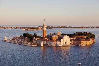 Italy, Veneto, Venice. the Island of San Giorgio Maggiore with its Famed Church. Unesco.-Ken Scicluna-Photographic Print