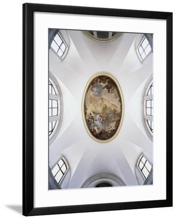 Italy, Venice, Church of Pieta or St Mary of Visitationed Ceiling--Framed Giclee Print