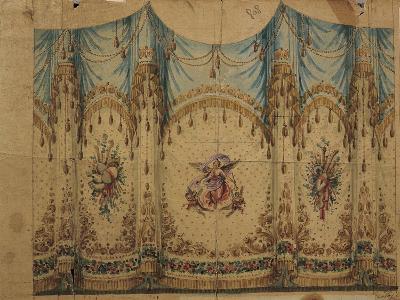 Italy, Venice, Curtain Decoration Design--Giclee Print