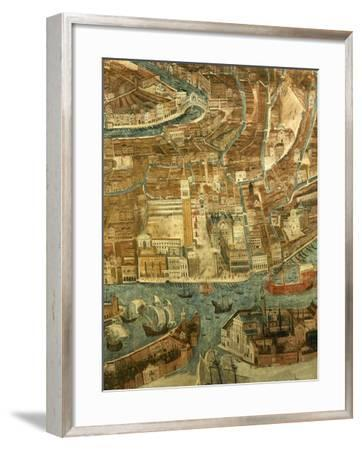 Italy, Venice, Perspective View of Piazza San Marco--Framed Giclee Print
