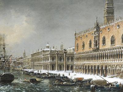 Italy, Venice, Riva Degli Schiavoni--Giclee Print