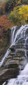 Ithaca Falls, Tompkins County, Ithaca, New York, USA