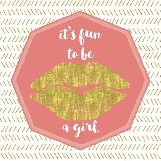 Its Fun to Be a Girl-Tina Lavoie-Giclee Print