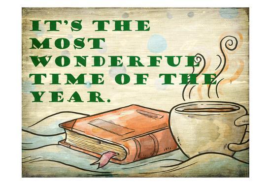 Its the Most Wonderful-Kimberly Allen-Art Print