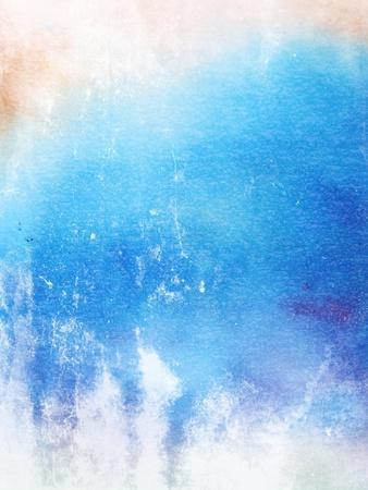Abstract Textured Background: Blue And White Patterns