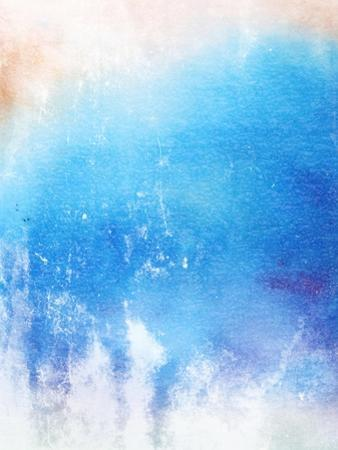 Abstract Textured Background: Blue And White Patterns by iulias