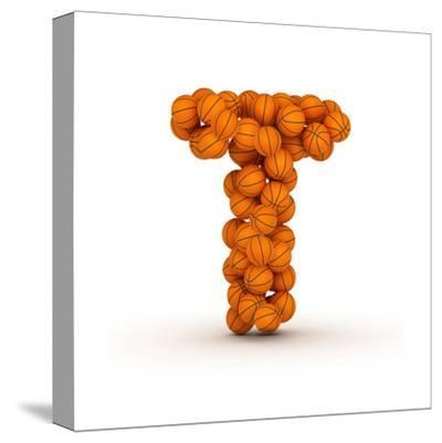 Letter T, Basketball Alphabet