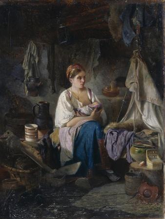 Young Mother, 1868