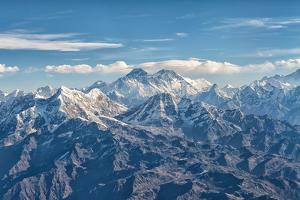 Mount Everest in Mahalangur, Nepal by Ivan Batinic