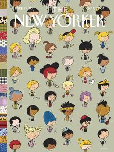 The New Yorker Cover - May 7, 2007 by Ivan Brunetti