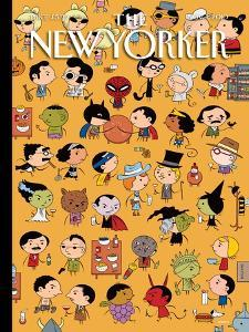 The New Yorker Cover - November 1, 2010 by Ivan Brunetti