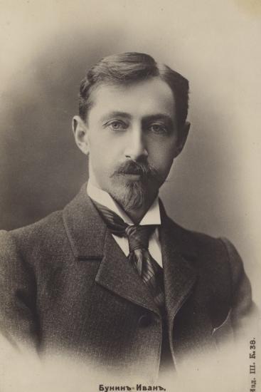 Ivan Bunin, Russian Writer--Photographic Print