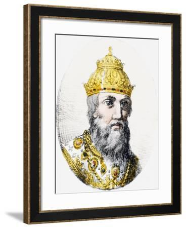 Ivan IV, known as Ivan Terrible--Framed Giclee Print