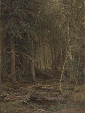 Backwoods by Ivan Ivanovich Shishkin