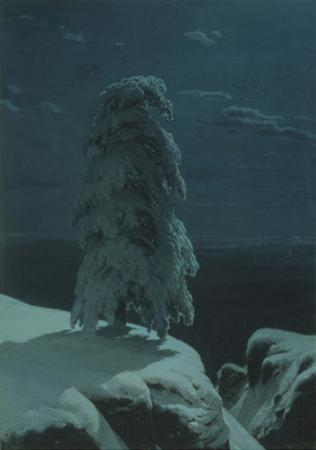 In the Wilds of the North by Ivan Ivanovich Shishkin