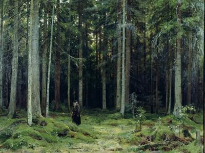 Countess Mordvinov's Forest, 1891 by Ivan Ivanovitch Shishkin