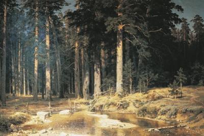 Forest, 1898 by Ivan Ivanovitch Shishkin