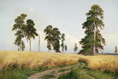 The Field of Wheat, 1878 by Ivan Ivanovitch Shishkin
