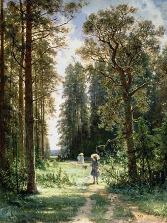 The Path Through the Woods, 1880 by Ivan Ivanovitch Shishkin