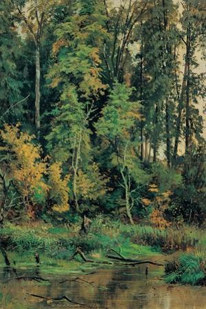 Towards the Autumn by Ivan Ivanovitch Shishkin