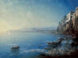 A View of Sorrento, 1892 by Ivan Konstantinovich Aivazovsky