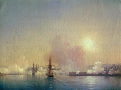 Arrival Into Sebastopol Bay, 1852 by Ivan Konstantinovich Aivazovsky
