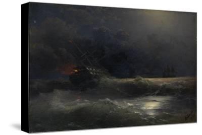 Burning Ship (An Episode of the Russian-Turkish War), 1896