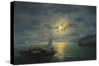 Crossing the Dnepr River at Moonlit Night, 1897