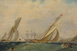 Frigate on a Sea, 1838 by Ivan Konstantinovich Aivazovsky