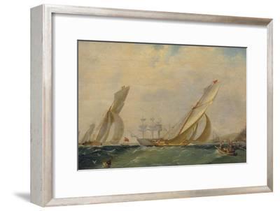 Frigate on a Sea, 1838