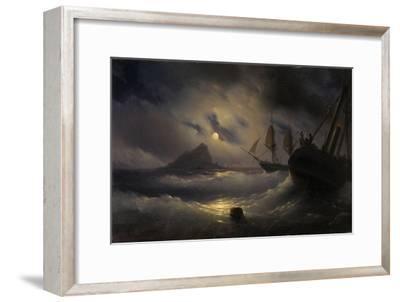Gibraltar by Night, 1844