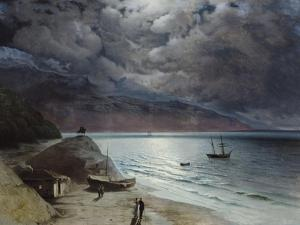 Night at Gurzuf, 1891 by Ivan Konstantinovich Aivazovsky