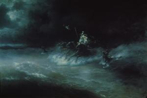 Poseidon's Travel over the Sea, 1894 by Ivan Konstantinovich Aivazovsky