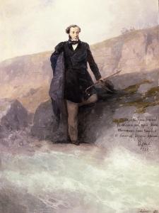 Pushkin (1799-1837) on the Shore of the Black Sea, 1897 by Ivan Konstantinovich Aivazovsky