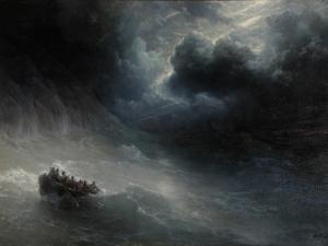 Rage of Elements by Ivan Konstantinovich Aivazovsky
