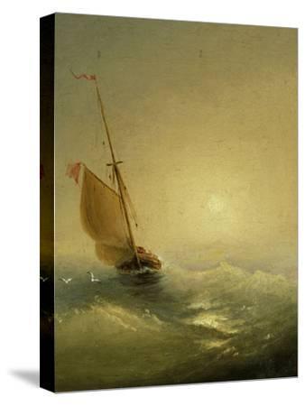Sailing Barge at Sunset, 1856