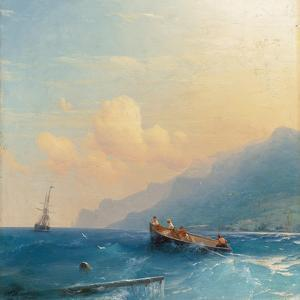 Searching for Survivors, 1863 by Ivan Konstantinovich Aivazovsky