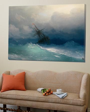 Ship on Stormy Seas